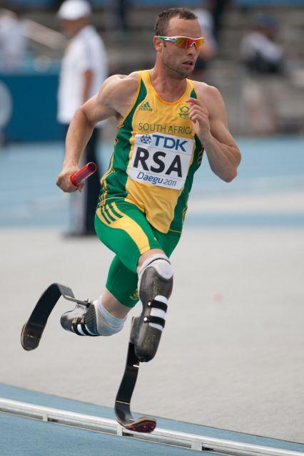 Oscar Pistorius 400 metre relay