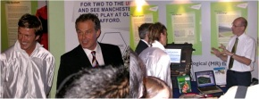 Beckham and Blair during their Olympic bid double act in Singapore in 2005