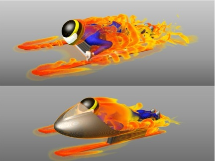 Guy Martin sled CFD
