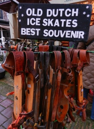 Ice skates from around 1910