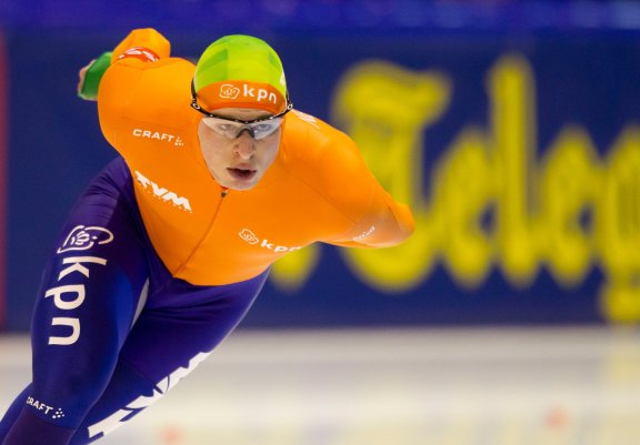 Olympic 5000m title defender of 2014: Sven Kramer (the Netherlands)