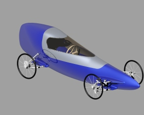 CAD model of final shell design (image John Hart)